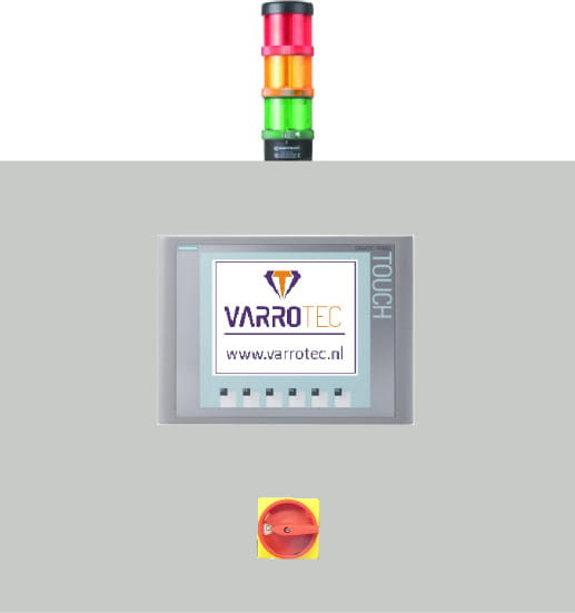 The VarroTec B.V. Cold-End control panel